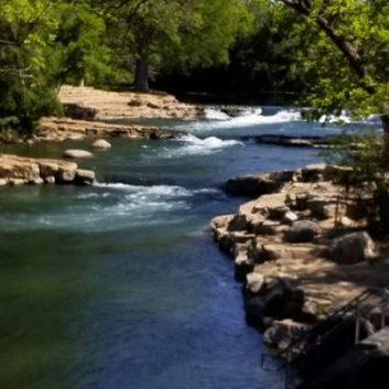 float-river